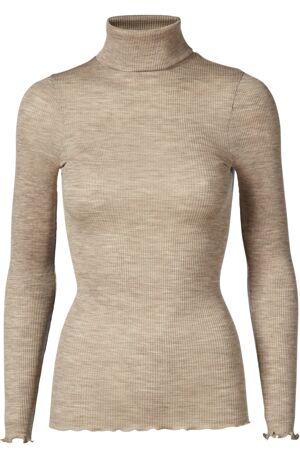 ROSEMUNDE – Bluse med rullekrave