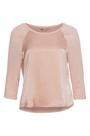 PBO – Bluse med silke forside