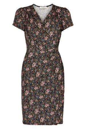 "IN FRONT – kjole ""slåom"" med blomster"