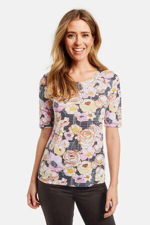 GERRY WEBER – T-shirts med print og sølv