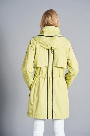 JUNGE – Regnfrakke med hætte