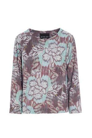 BITTE KAI RAND – Bluse med mønster
