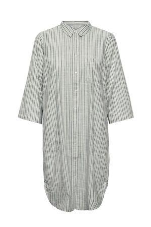 PART TWO – Storskjorte/kjole med striber