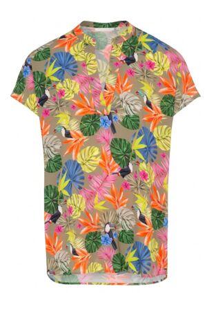 ETERNA – Skjorte med palmeprint