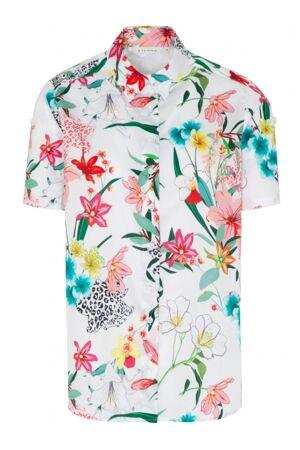 ETERNA – Skjorte med print af blomster